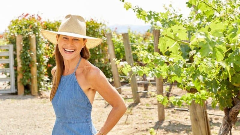Cheryl Yannotti Foland in Vineyard: Buy Less