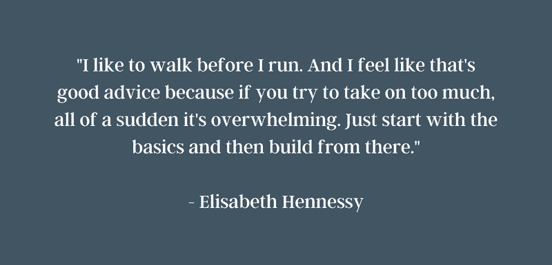 Quoting Elisabeth Hennessy