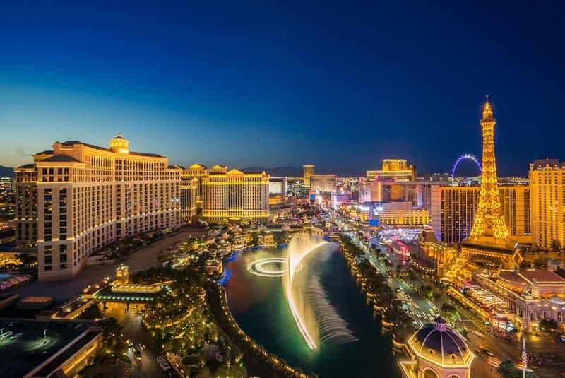 Giada's start was non-other than Las Vegas