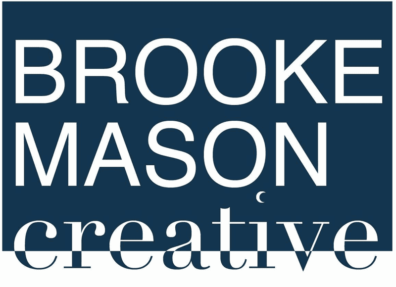 Logo Brooke Mason Creative Agency