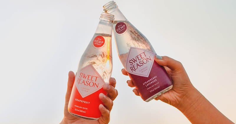 CBD infused Drink brand Sweet Reason