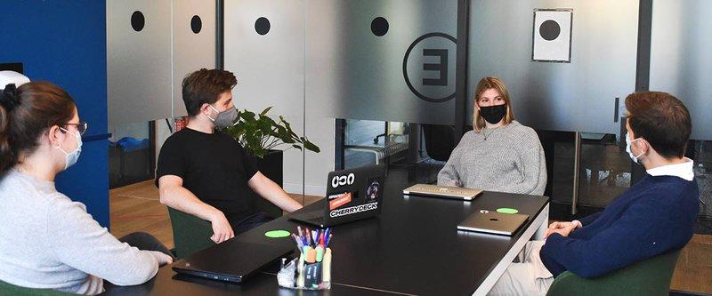 CorpNet - meeting in office