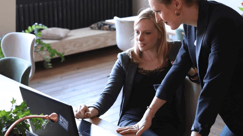 non-profit basics - two women talking