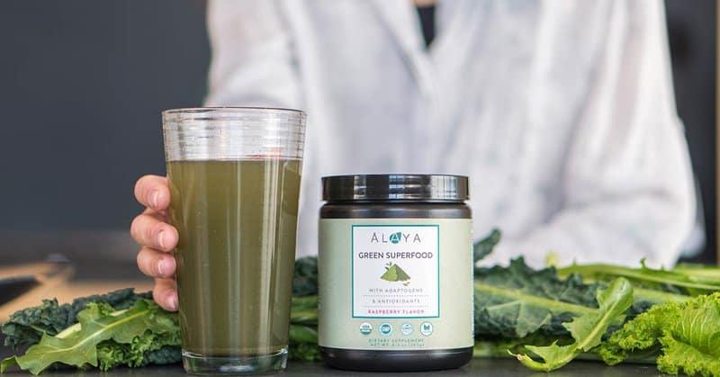Alaya Naturals' USDA certified Organic Green Superfood