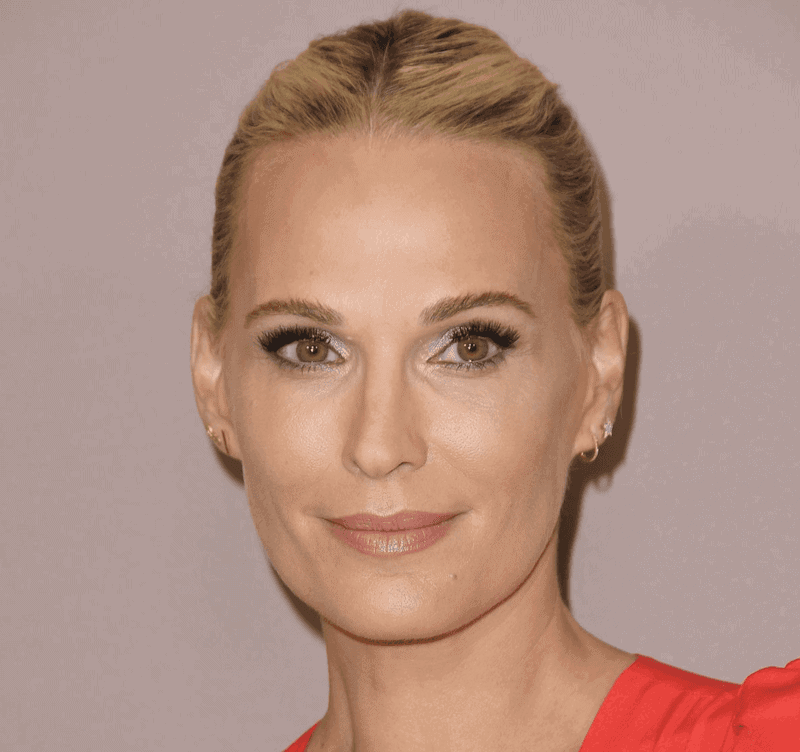 Molly Sims, model and author