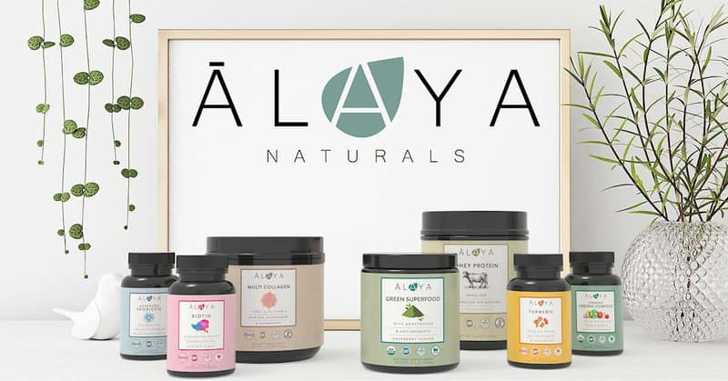 Alaya Naturals are made following sustainable manufacturing