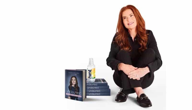 "Hint Water Founder Kara Gilden and her book, ""Undaunted"""