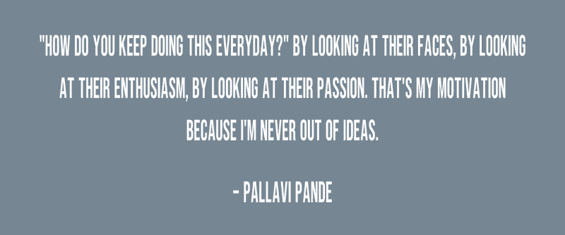Quote from Pallavi Pande