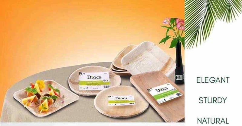 Dtocs - sustainable entrepreneurship plates from plants