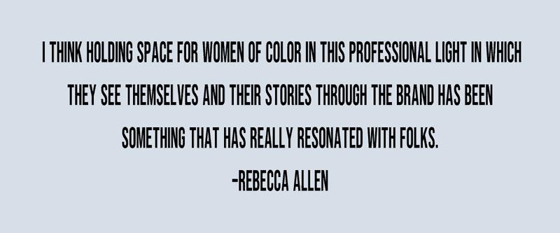 quote from Rebecca Allen