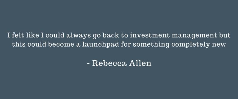 Quote from Rebecca Allen, CEO