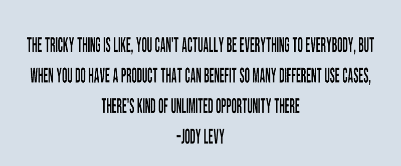 Quote from Jody Levy