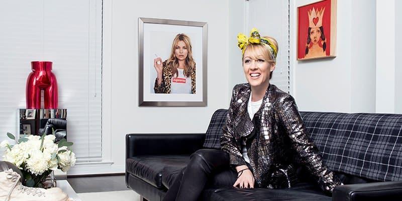 Female footwear entrepreneur, Angela Scott